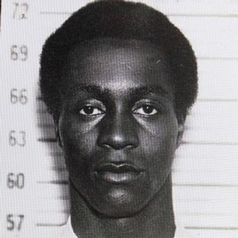 Photo dated 1963 of George Wright who has been arrested after more than 40 years as a fugitive. Photo: AP
