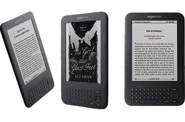 Amazon is currently on the third version of the Kindle