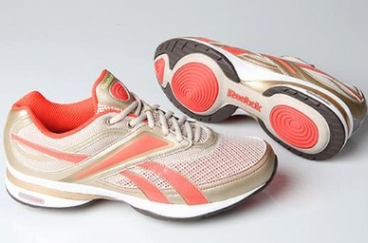 Reebok's EasyTone walking shoes and RunTone running shoes have retailed for $US80 to $US100 a pair