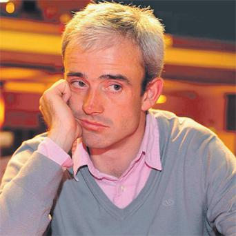 Jockey Ruby Walsh taking part in the Celebrity Invitational poker competition at the Ladbrokes.com Irish Poker Festival in Killarney