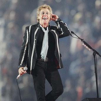 Roger Daltrey of The Who phas criticised the lack of singers who can lead bands (AP)