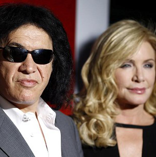 Gene Simmons and wife Shannon Tweed