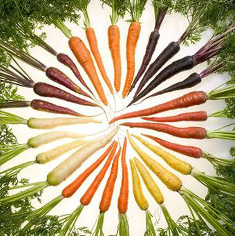 Multi-coloured carrots are coming to a Tesco near you (Tesco)