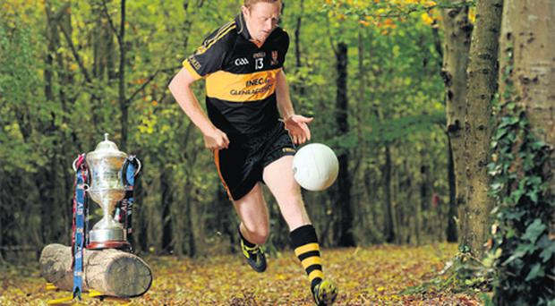 Kerry ace ColmCooper in his Dr Crokes colours at the launch of the AIB GAA club championships