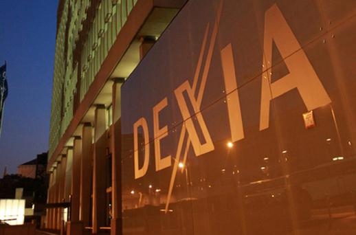 There have been alarm bells ringing over the health of Belgian bank Dexia. Photo: Getty Images