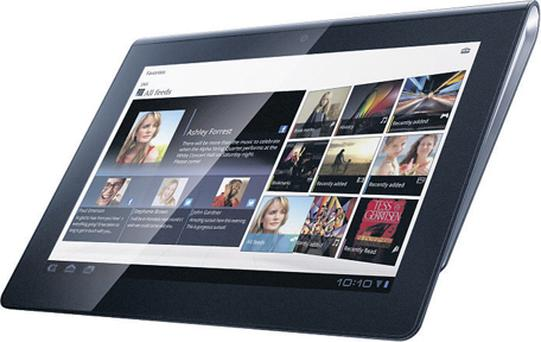 Worth a look: Sony's Tablet S is one of the better Android tablets on the market