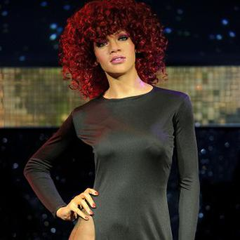 Rihanna's waxwork is unveiled at Madame Tussauds in London