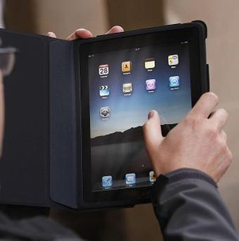 A tracker application on an iPad lead police to find a haul of stolen property