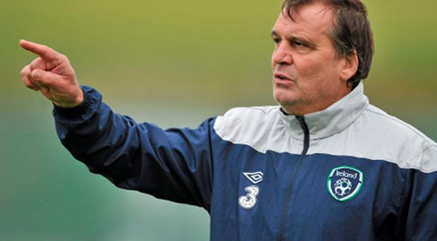 Ireland assistant manager Marco Tardelli . Photo: Sportsfile