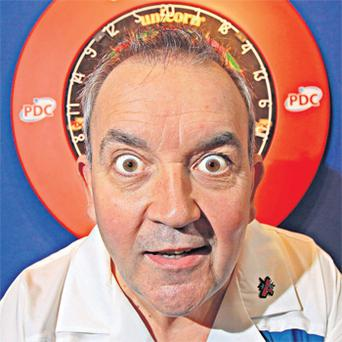 Phil Taylor will be in action in the quarter-final of the last 16 of the World Grand Prix at Citywest tonight