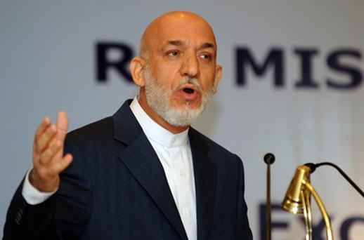 Afghan president Hamid Karzai. Photo: Getty Images