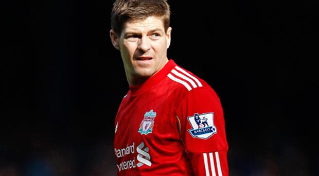 Steven Gerrard was left out of Fabio Capello's squad for Friday's Euro 2012 qualifier in Montenegro as he has played just 56 minutes of football in three substitute appearances this season. Photo: Getty Images