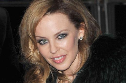 Kylie Minogue: backing old flame Jason Donovan as he battles for dancefloor supremacy on Strictly Come Dancing. Photo: Getty Images