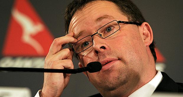Qantas boss Alan Joyce is from Dublin