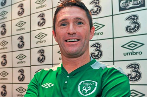 Irish captain Robbie Keane was in relaxed mood as he addressed the media in Andorra yesterday ahead of tonight's Euro 2012 Group B qualifying match