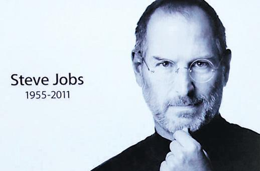 The Apple website paid a simple tribute to Mr Jobs on his death on Wednesday