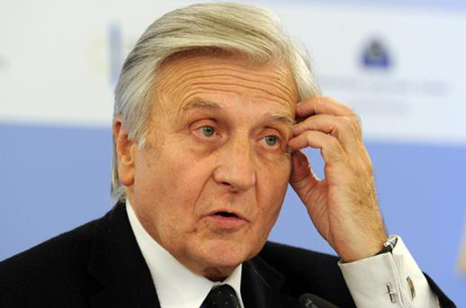 Outgoing ECB president Jean Claude Trichet hinted that relief may be on the way for homeowners over the medium term as Europe's economy cools and inflation rates fall. Photo: Getty Images