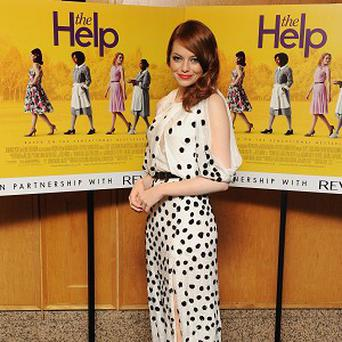Emma Stone said her character in The Help offered her a much meatier role than those usually available to her