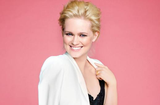 Feelgood factor: Cecelia Ahern Picture: Barry McCall