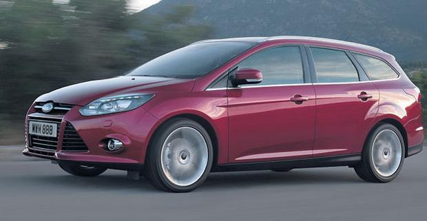BREATHTAKING: The Ford Focus Estate Titanium scores with its beautiful handling