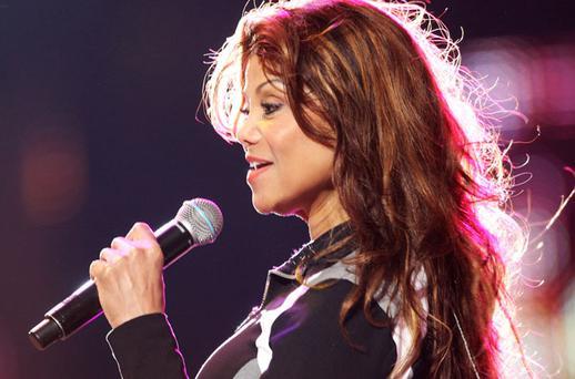 La Toya Jackson rehearses for the ' Michael Forever' concert to remember the late Michael Jackson