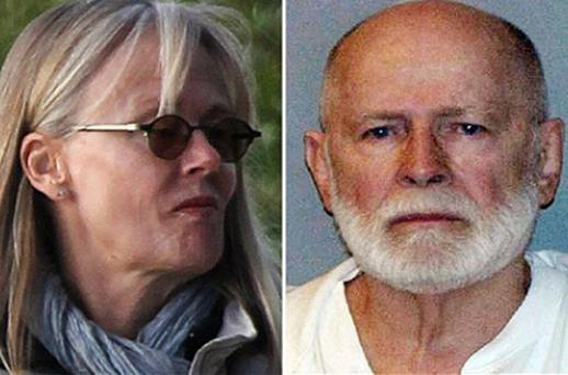 Anna Bjornsdottir, left, and James 'Whitey' Bulger. Photos: Getty Images/AP