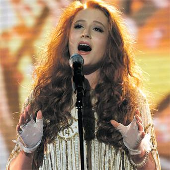 Janet Devlin from Co Tyrone performs on the 'X Factor' on Saturday night