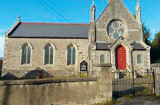 The church in Co Donegal that came with the remains of two ministers, who had to be exhumed and re-interred
