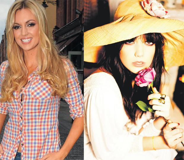 From left: Rosanna Davison will do Playboy magazine. Daisy Lowe featured in the August edition this year.