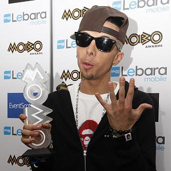 N-Dubz singer Dappy has been arrested on suspicion of attacking his girlfriend