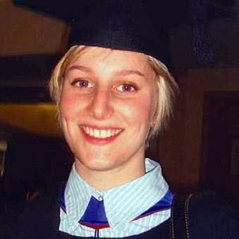 Murdered: Joanna Yeates at her graduation in November 2010. Photo: Getty Images