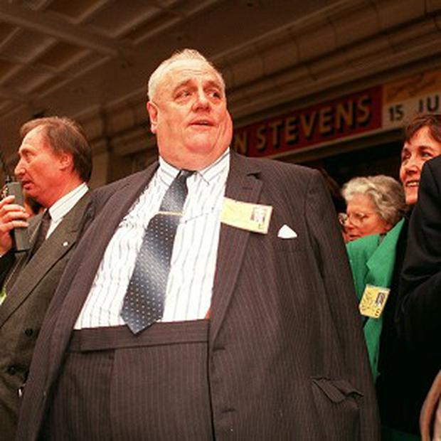 Sir Cyril Smith is reported to have weighed 29 stone at his heaviest