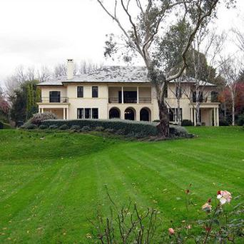 Australian Prime Minister Julia Gillard's official residence, known as The Lodge in Canberra, has been declared a fire hazard(AP)