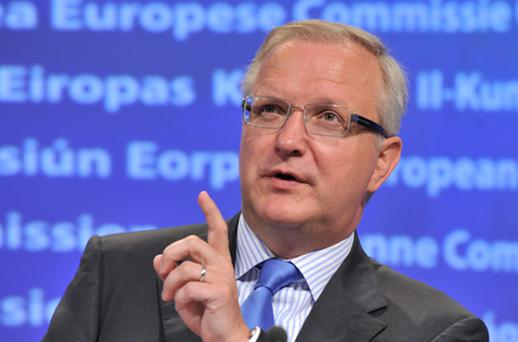EU economic commissioner Ollie Rehn. Photo: Getty Images