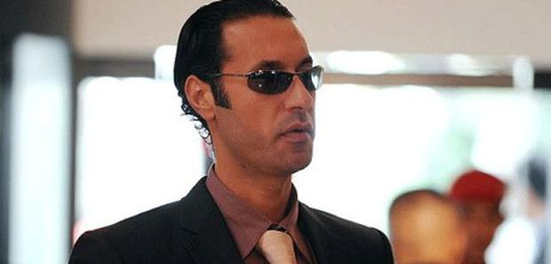 Mutassim Gaddafi, the son of Col Muammar Gaddafi