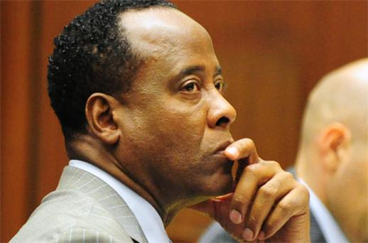 Dr Conrad Murray. Photo: Getty Images