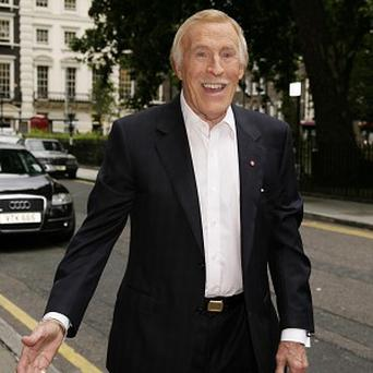 Sir Bruce Forsyth says his granddaughter impressed record producers