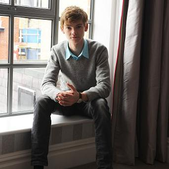 Thomas Sangster plays a young cancer patient in the upcoming film