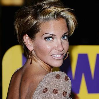 Sarah Harding is being treated for depression and alcohol addiction