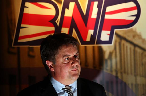 Nick Griffin had been asked to speak at the University Philosophical Society. Photo: Getty Images