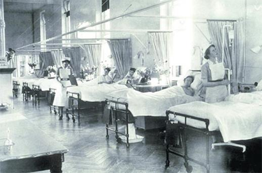 Some 1950s-style care and attention would go a long way on the wards of modern hospitals