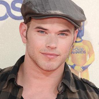 Kellan Lutz blitzed his body for the role