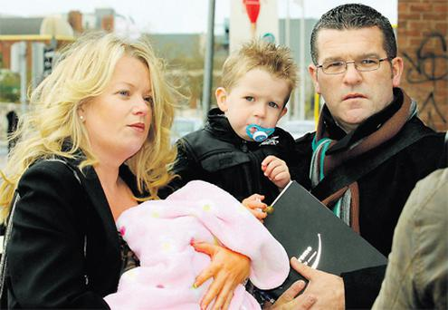 For Darren Kelly, his wife Melissa and children Evan and Sophie, home for the next five weeks will be a hotel