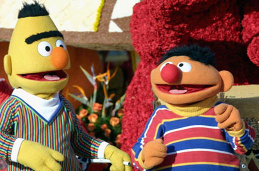 Sesame Street favourites Bert and Ernie. Photo: Getty Images