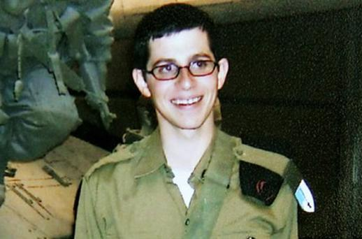 Gilad Shalit pictured before he was taken captive in 2006
