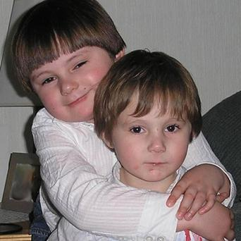 Five year old Taylor Jenkins and his brother, seven year old Lewis, who died in a house fire in Eastbourne. Photo: PA
