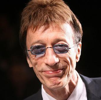 Bee Gees star Robin Gibb is being treated in hospital
