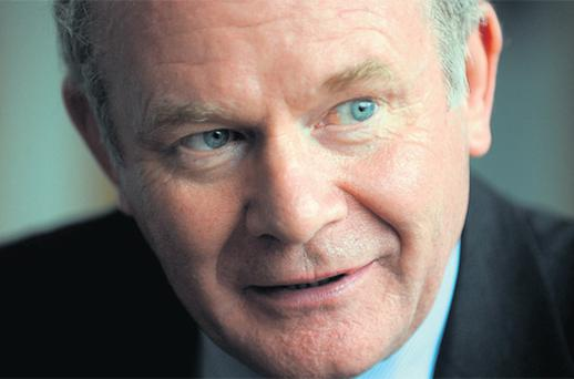 Sinn Fein's Martin McGuinness wants to push the Government on jobs, if elected to the Aras, thereby setting off a constitutional crisis
