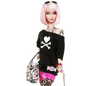 Mattel, the manufacturer, has described the doll – which is already sold out in the US until next month - as a 'funky fashionista'
