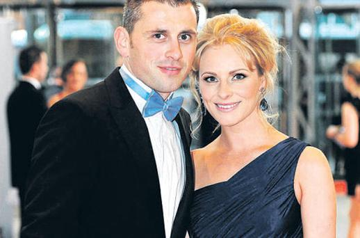 THE country's top footballers and hurlers turned out in style last night for the annual All Star event. And among them was Dublin's Alan Brogan, voted All Star footballer of the year, with his wife Lydia.
